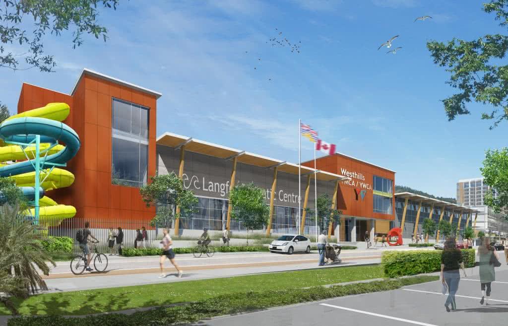 Westhills ymca ywca langford aquatic centre durwest for Garden city ymca pool schedule
